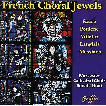 Worcester Cathedral Choir - French Choral Jewels [CD] USA import