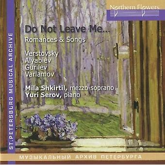Shkirtil / Serov - Verstovsky Alabiev - Romances and Songs [CD] USA import