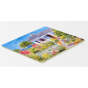 Carolines Treasures  6034CMT Seaside Beach Cottage  Kitchen or Bath Mat 20x30