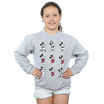 Disney Girls Mickey Mouse Evolution Sweatshirt