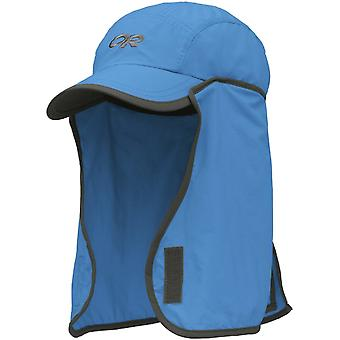 Outdoor Research enfants Cap Sun Runner - bleu Hydro