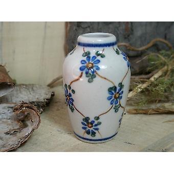 Vaas, miniatuur, traditie 8, Bunzlauer aardewerk - BSN 6916