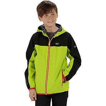 Regatta jongens & meisjes afwijken waterdichte ademende jas van Hooded Jacket