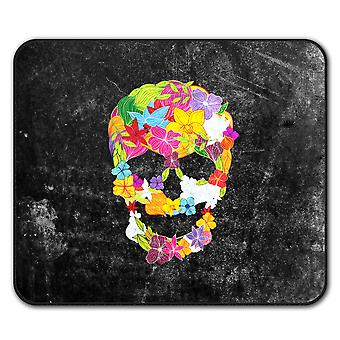 Flower Peace Death  Non-Slip Mouse Mat Pad 24cm x 20cm | Wellcoda