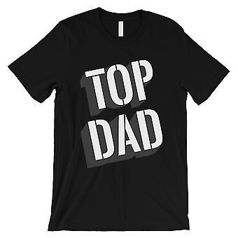 Top isä miesten musta paita