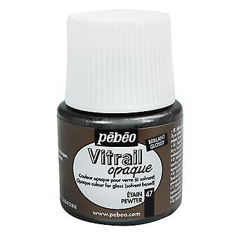 Пебео Витраил Opale непрозрачной краской стекла 45 мл