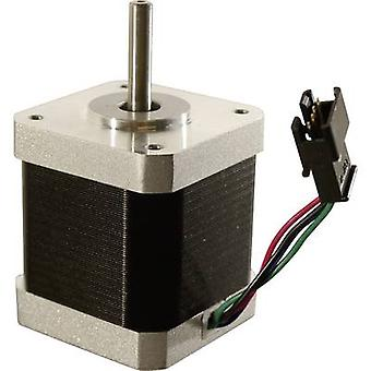 Motor X/Y/Z/Extruder inkl. Koble 4-pinners egnet for (3D skriver): Renkforce RF1000, Renkforce RF2000, Renkforce RF2000 v2