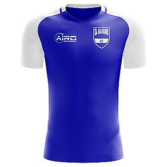 2020-2021 El Salvador Home Concept Football Shirt (Kids)