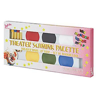 Gama de maquiagem de teatro
