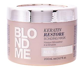 Schwarzkopf BLONDME Keratin genoprette bonding maske 200 ml unisex