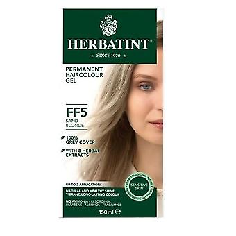 Herbatint, Sand Blonde Hair Colour FF5, 150ml