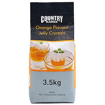 Country Range Orange Jelly Crystals