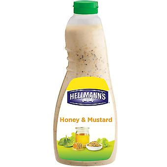 Hellmanns Honey & Mustard Salad Dressing