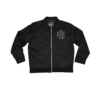 Lucky 13 men's transfer jacket dead skull