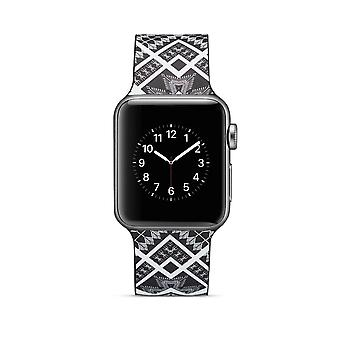 Siliconen horlogebandje voor Apple Watch 4 40mm, 3/2/1 38mm-Quadrangle