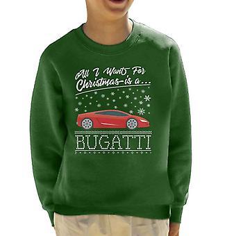 All I Want jouluksi on Bugatti lasten paita