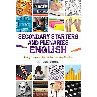 Sekundära förrätter och plenarsammanträden - engelska - kreativa aktiviteter - Läs