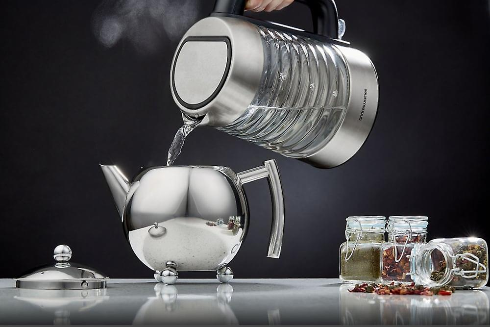 Andrew James Stainless Steel Infusion Teapot