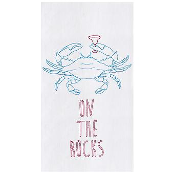 カクテル小麦粉袋キッチン タオル綿岩蟹に 27 インチ