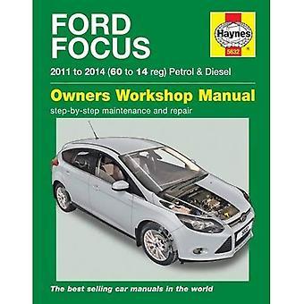 Ford Focus benzine en Diesel Service en reparatie handleiding: 2011-2014 (Haynes Service en reparatie handleidingen)