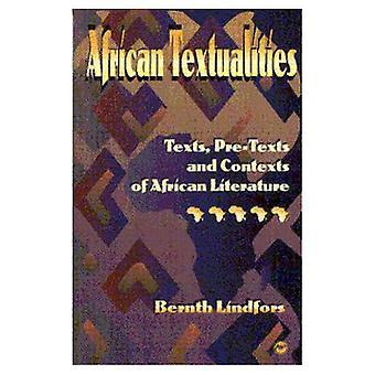 Afryki Textualities: Teksty, teksty wstępnej i konteksty literatury Afryki
