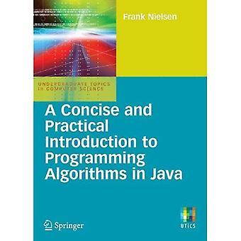 En kortfattet og praktisk introduktion til programmering algoritmer i Java (Undergraduate emner i datalogi)