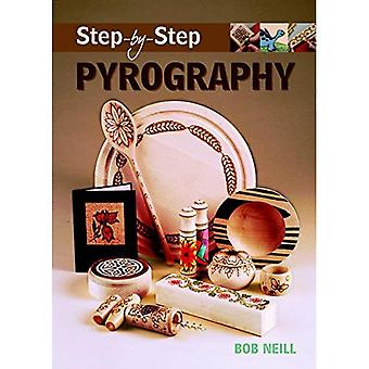 Step-by-step Pyrography (Step-By-Step (Guild of Master Craftsman Publications)) (Step-By-Step (Guild of Master Craftsman Publications))