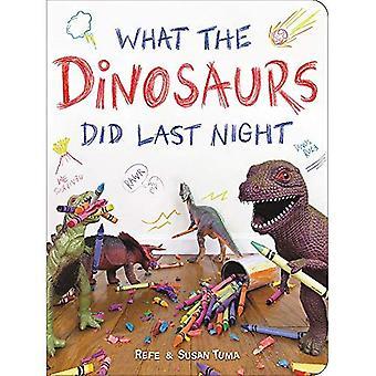 Ce que les dinosaures ont fait hier soir: une aventure très salissante