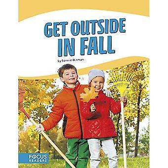 Krijgen buiten in herfst