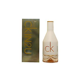 Calvin Klein Ck In2u ei Edt Spray 50 ml pentru femei