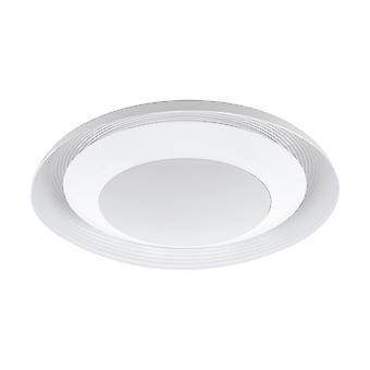 Eglo - Canicosa LED ajustável branco redondo EG96692 luz de teto