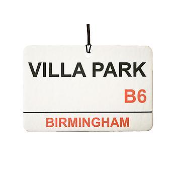 Aston Villa / Villa Park Street registrera bilen luftfräschare
