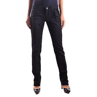 Red Valentino Ezbc026008 Women's Black Cotton Jeans