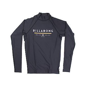 بيلابونغ الوحدة طويلة الأكمام سترة راش باللون الأسود