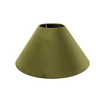 QAZQA Velor lampor musgo verde 50 / 17.5 / 25