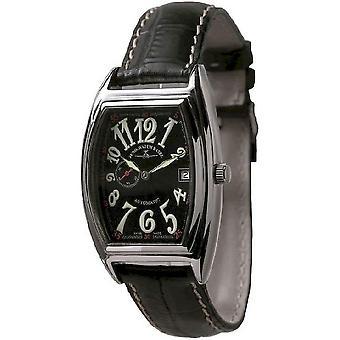 Zeno-watch mens watch tonneau retro automatic 8081-9-h1