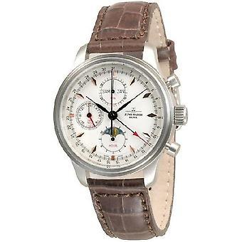 ゼノ ・ ウォッチ メンズ腕時計 NC レトロなクロノ Fullcalendar 9557VKL-g2-N1