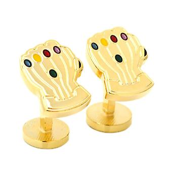 Marvel Avengers Thanos Infinity Gauntlet Cufflinks