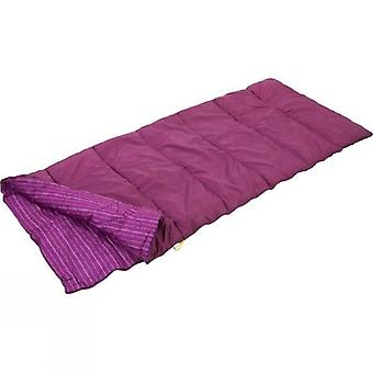 Regatta Maui 2 Season Polyester Single Sleeping Bag - Azalia