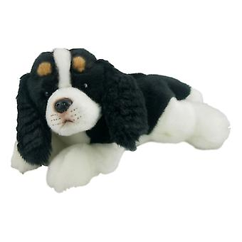 Knuffel beestjes hond Coco koning Charles 25cm