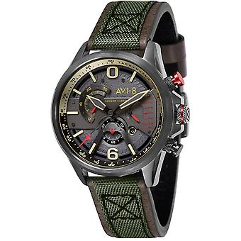 Hawker AVI-8 Харриер ll часы - армия зеленый/серый