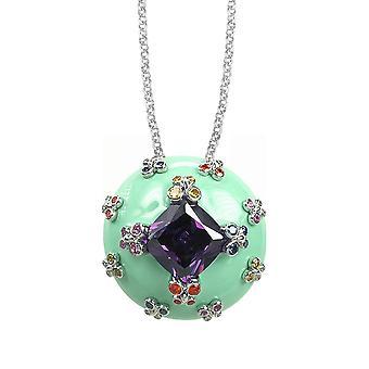 Belle Etoile Green Farfalla Allegra Pendant 02020910802