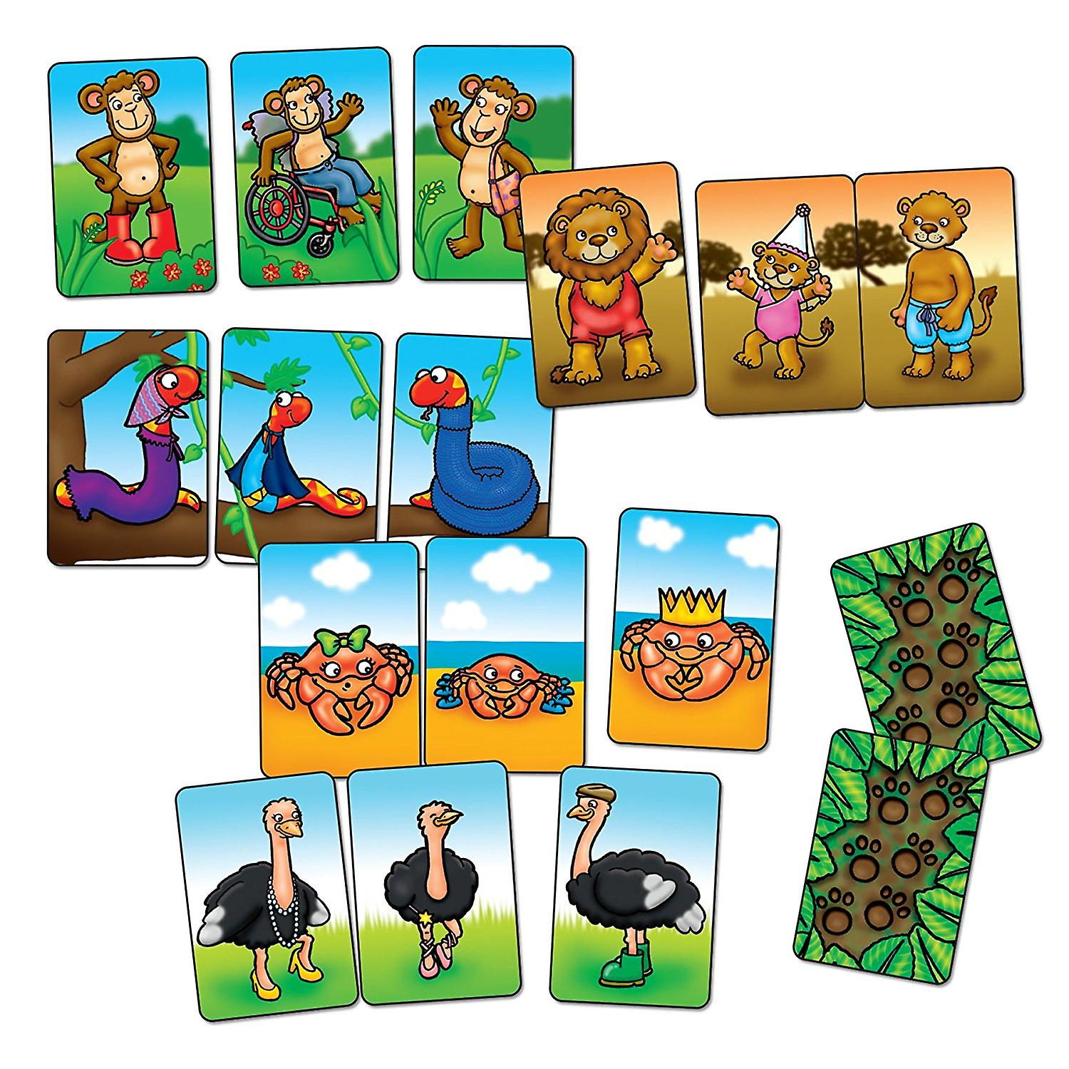 Orchard Toys Animal Families Game