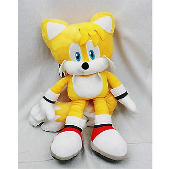 Plush Backpack - Sonic The Hedgehog - Tails New Soft Doll Toys sh12397