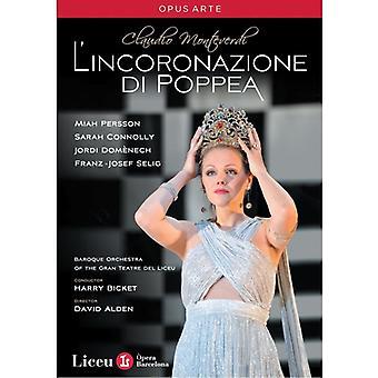 C. Monteverdi - importation USA l'incoronazione Di Poppea [DVD]