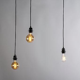 QAZQA Industrial pendurado lâmpada preta - Cava 3