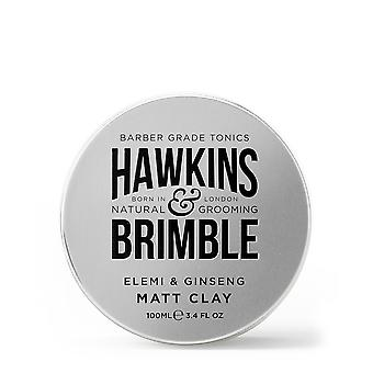 Hawkins & Brimble Matt Clay pommade (100ml)