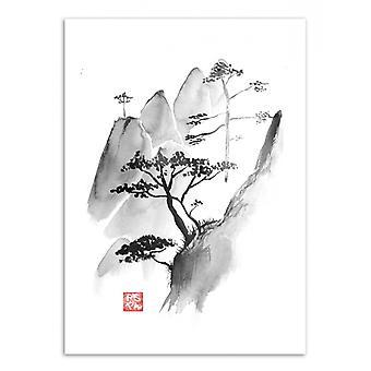 Art-Poster - Scogliera - Pechane Sumie 50 x 70 cm