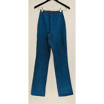 Denim & Co. Leggings TXS Stretch Tall Boot Cut Denim Blue A01725