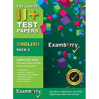 11+ Test Papers English Pack 2 - 9780957694972 Book